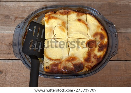 Moussaka - stock photo