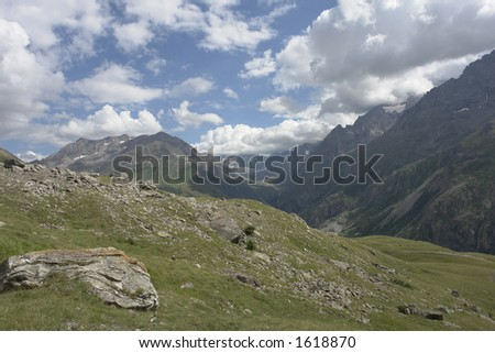 Moutaine - France - stock photo