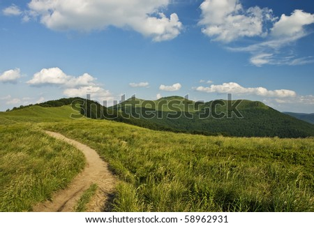 Moutains - stock photo