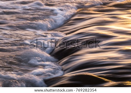Movement Flowing Water