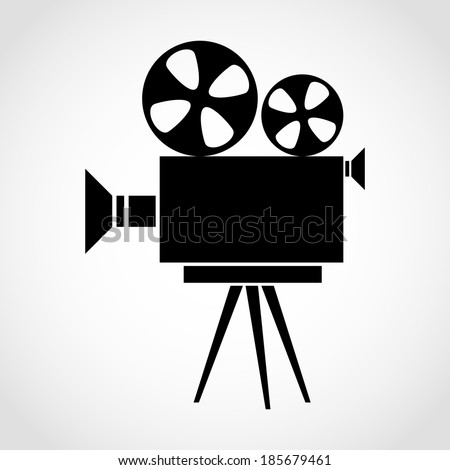 Stock Images similar to ID 141802873 - cinema camera icon