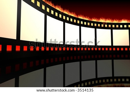movie film - stock photo