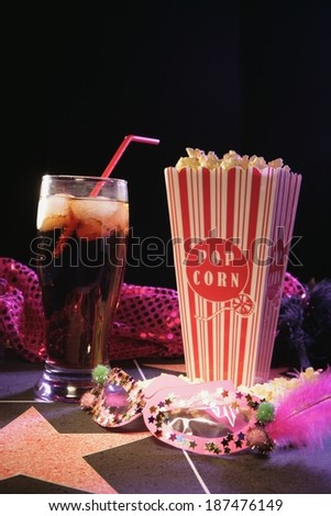 Movie Night - stock photo