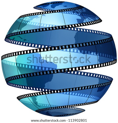Movie World - stock photo