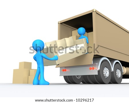 Moving Company - stock photo