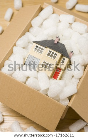 Moving House - stock photo