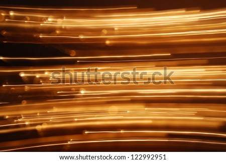 Moving lights 2 - stock photo