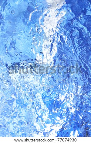 Moving water surface - stock photo