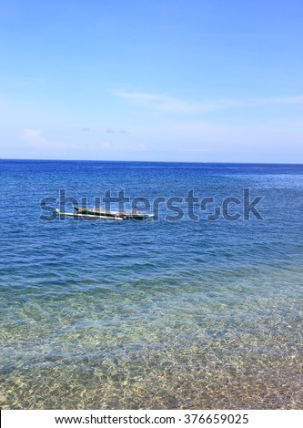 Moyo Island in Sumbawa Indonesia  - stock photo