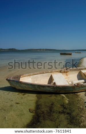 mozambique beach 3 - stock photo