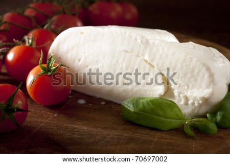 Mozzarella with Tomato and Basil