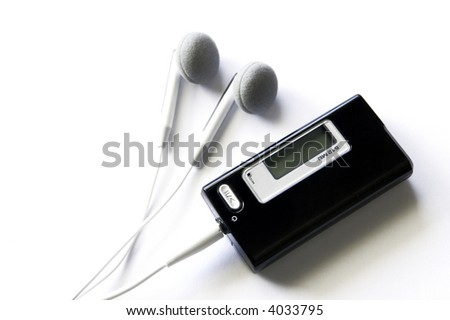 Mp3 Player - stock photo