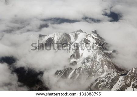 Mt. Everest - stock photo