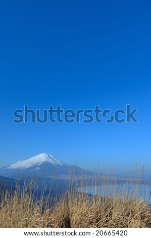 Mt. Fuji of the morning - stock photo