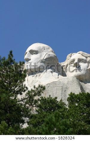 Mt. Rushmore - stock photo