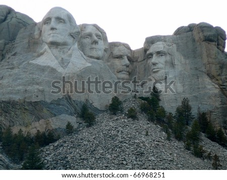 Mt. Rushmore - stock photo