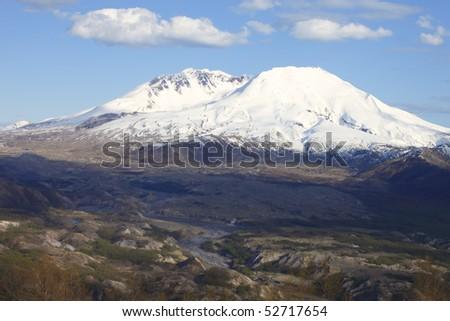 Mt. St. Helen's, National Monument & park. - stock photo