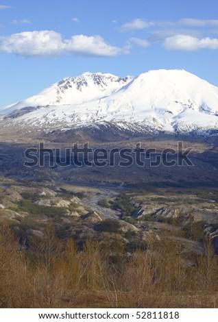 Mt. St. Helen's, National Volcanic Monument. - stock photo