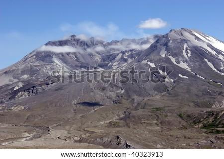 Mt. St. Helen's WA. - stock photo