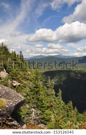 Mt. Washington - Great Gulf Wilderness - stock photo