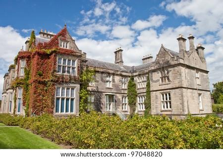 Muckross House and gardens in National Park Killarney -  Ireland. - stock photo