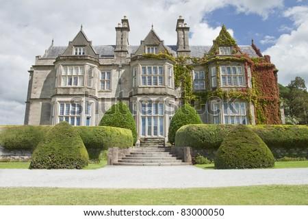 Muckross House in Killarney National Park - Ireland. - stock photo