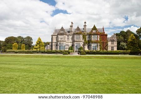 Muckross House in National Park Killarney -  Ireland. - stock photo