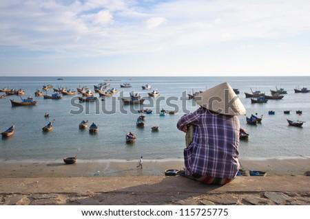 Mui Ne beach - stock photo