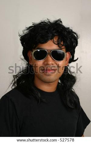 Mullet Man - stock photo