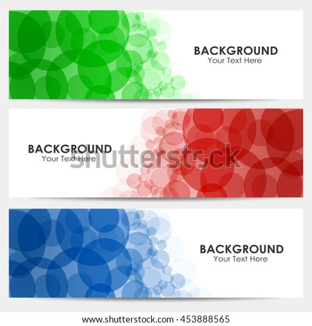 Multi-colored Abstract colorful circles background  - stock photo
