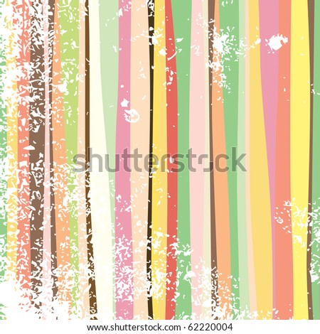 Multi-colored abstract stripes. Raster version. Vector version is in my gallery.