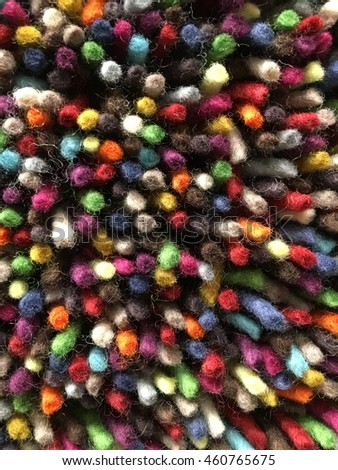 multi colored carpet texture background