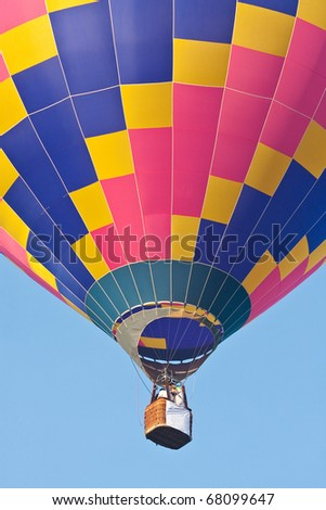 Multi-colored with the sky on Balloon Festival