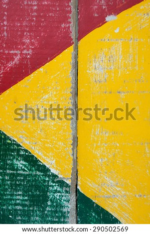 Multi colorful wood background - stock photo