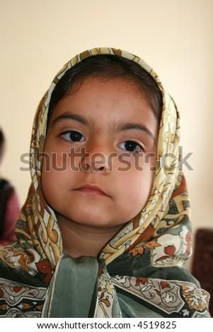 multi-ethnic girl - stock photo