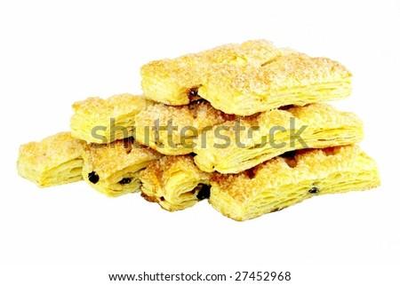 Multi-layer steamed bread - stock photo