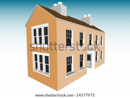 Multi-room Home - stock photo