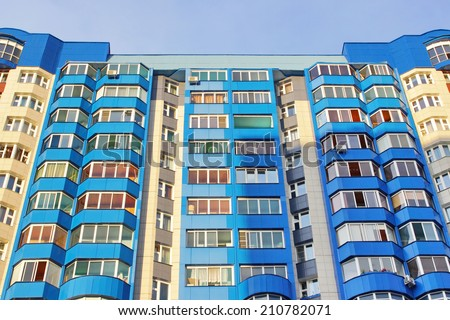 Multi-storey building structure building social housing neighborhood