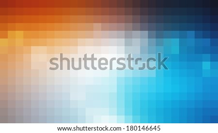 Multicolor abstract lights disco background square pixel mosaic  - stock photo
