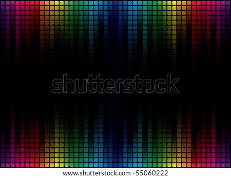 multicolor background - stock photo