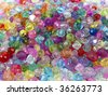 Multicolor beads - stock photo