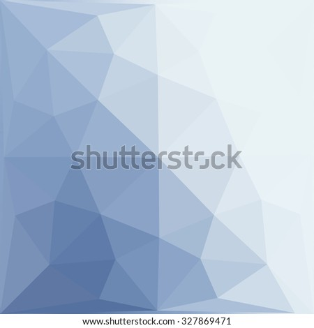Multicolor blue gradient geometric pattern. Triangles background. Polygonal raster abstract for your design. Cool background image for websites. - stock photo