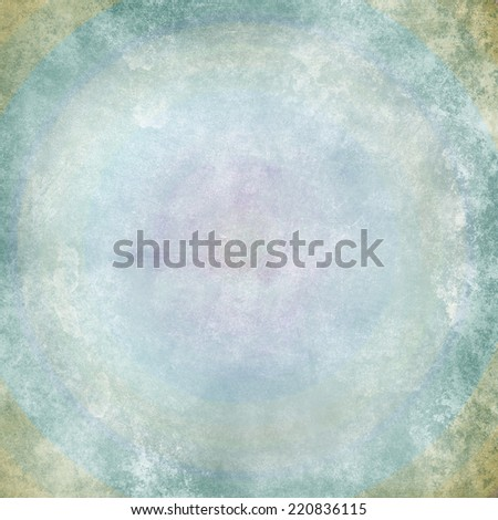 Multicolor grunge background. A vintage poster. - stock photo
