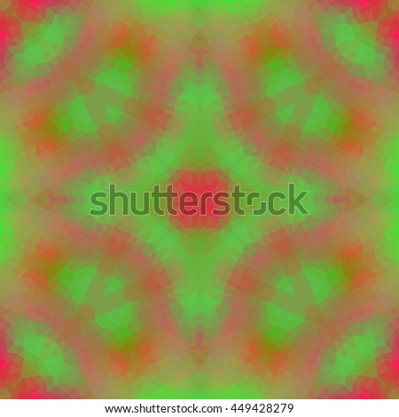 Multicolor low poly abstract background. Raster version. - stock photo