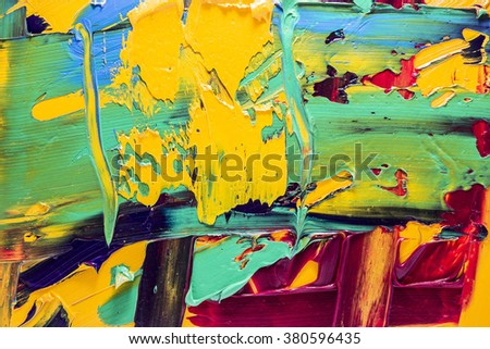 multicolor oil paints background