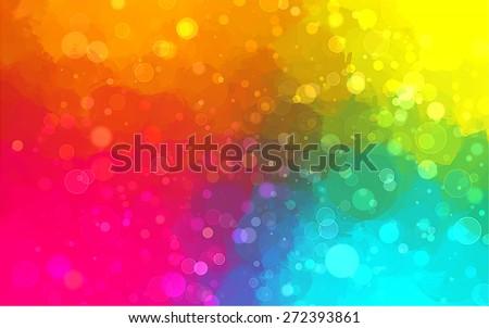 Multicolor shine brush strokes background. Raster version - stock photo