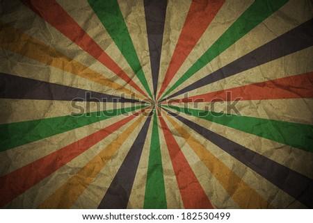 Multicolor Sunbeams grunge background  - stock photo