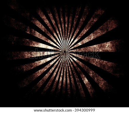 Multicolor Sunbeams Grunge Background. Beautiful Old Vintage Poster - stock photo