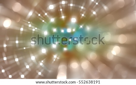 Multicolored abstract background holidays lights in motion blur image. Illustration digital.