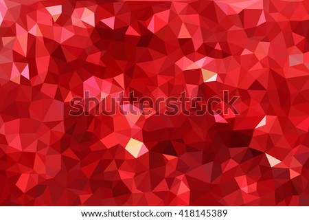 multicolored abstract background of effect geometric triangles - stock photo